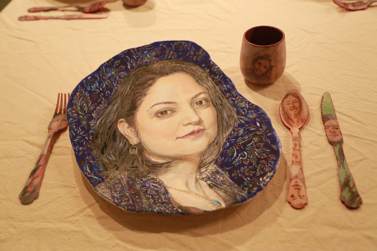 Hadieh Afshani- The First Supper