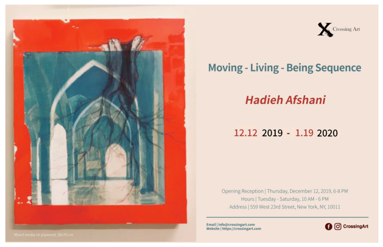 Moving-Living-Being SEQUENCE Art Exhibition